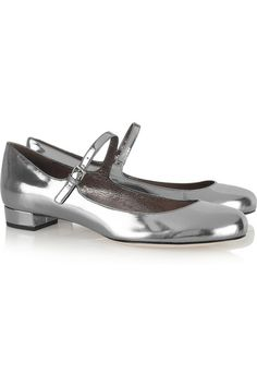 Miu Miu Patent-leather Mary Jane pumps...My shopping shoes