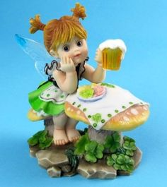 CORNED BEEF & CABBAGE FAIRIE ___My LiTTLe KiTcHeN FAiRiES Collection from Enesco