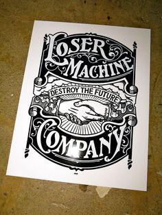 Loser Machine Company — SECOND GRIMB GRAPHIC ARRIVES TODAY!!