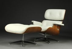 Eames Lounge Chair - yep this is going in my  Airstream. The best working chair I have ever found.
