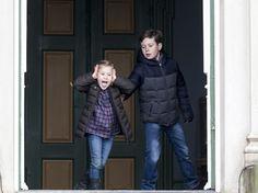 Big brother Prince Christian takes control of sibling, Princess Josephine
