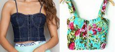 Este top com bojo 3D pode ser feito com vários tipos de tecido e usado tanto como uma blusinha, como para fazer o corpo de um vestido. Segue esquema de modelagem do 36 ao 56. Já está com as margens de costura de 1 cm.