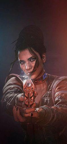 Cyberpunk Girl, Arte Cyberpunk, Cyberpunk Character, Cyberpunk 2077, Character Inspiration, Character Design, Wolf, Warrior Girl, Shadowrun