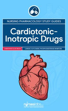 Cardiotonic-Inotropic Drugs Nursing Pharmacology Study Guide   Cardiotonic agents are drugs used to increase the contractility of the heart. Included below is a pharmacology guide for nurses on the various effects of cardiotonic-inotropic agents.