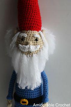 Gnome - Free Crochet Pattern.  FREE PATTERN 12/14.