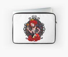 Queen of Hearts laptop sleeve