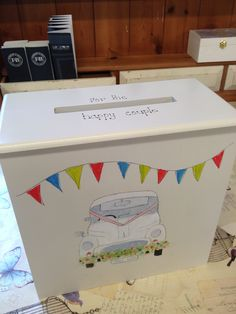 wedding post box available to oreder from Revival