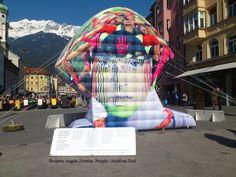 Mobiles Denkmal   Zwettler Angelika   Anfertigung Aufblasbarer Kunstwerke  Nach Vorgabe Des Künstlers   Anwendung Für