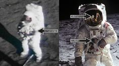 Why it's so hard to find photos of Neil Armstrong on the Moon
