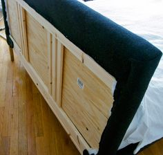 DIY: affordable upholstered headboard (warning: language in article includes some swearing)