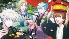 Anime, Uta no☆prince-sama♪, Kotobuki Reiji, Mikaze Ai, Kurosaki Ranmaru, Camus (Utapri), Quartet☆Night
