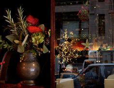 Christmas at Gramercy Tavern, NYC - photo Nicole Franzen