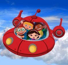 Little Einsteins--- Her favorite TV show! Loves Rocket!! Wonder why??...hmmm