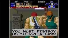 The Super Spy is an early Neo Geo game released by SNK in 1990. It is a first-person shooter and beat 'em up game with action RPG elements in which players move through the many floors of an office building shooting terrorists. It is a first-person game where the player character's arms and weapons are visible on screen. In 1991, SNK's Crossed Swords had similar gameplay, but with more RPG elements and hack & slash combat instead of shooting and fist-fighting. Snk Games, 90s Video Games, Beat Em Up, Hack And Slash, Neo Geo, First Person Shooter, Up Game, Swords, Spy