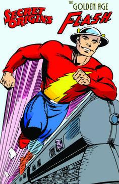 Golden Age Flash by Mike Parobeck Dc Comics Heroes, Arte Dc Comics, Comic Book Heroes, Comic Books Art, Comic Art, Dc Speedsters, Kid Flash, Flash Art, Flash Wallpaper
