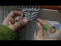 Tirai tali kur motif kupu-kupu by nasi udug - YouTube
