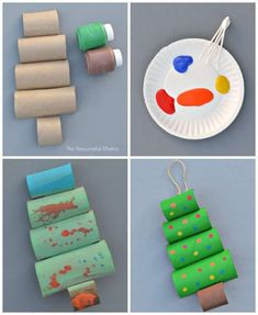 17 Christmas Guide Activities for kids with rolls of toilet paper – Christmas Crafts Kindergarten Christmas Crafts, Christmas Activities For Kids, Christmas Crafts For Kids, Craft Activities, Simple Christmas, Halloween Crafts, Christmas Diy, Christmas Decorations, Christmas Ornaments