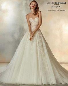 """ff1866ec1772 GentileWedding on Instagram  """" comingsoon 💖  bridalcollection 2020💖  Bordature multicolor e una gonna da principessa glamour. È l abito Poetess  della ..."""