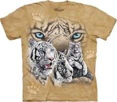 The Mountain Tiger T-Shirt | Find 12 Tigers Adult    Share  Price:  $16.00