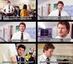 andy dwyer camp david