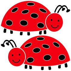 Sue and Amy Red Crocs, Ladybug Picnic, Dots Fashion, A Bug's Life, Lady Bugs, Connect The Dots, Wall Papers, Country Art, Painted Stones
