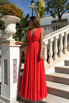 Fashion Red Chiffon Backless Long Prom Dresses 2020 Cheap Pleated Prom Party Gowns ,Red Evening Dress - Beauty is Art Prom Party, Party Gowns, Evening Dresses, Prom Dresses, Wedding Dresses, Dress Prom, Chiffon Dresses, Dress Long, Backless Maxi Dresses
