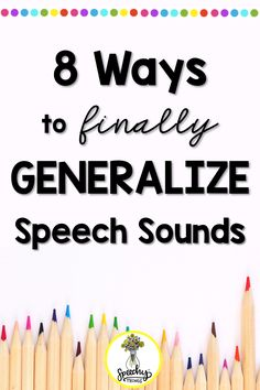 How to Help Students FINALLY Generalize Their Articulation Sound in Speech Therapy : Keep Calm and Carryover Those Skills – Speechy Things Articulation Therapy, Articulation Activities, Speech Activities, Speech Pathology, Speech Therapy Activities, Speech Language Pathology, Speech And Language, Montessori, Play Therapy Techniques