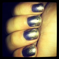 #notd Sinful Colors Fiji, Sally Hansen Hard As Nails Golden-I, KleanColor Silver Lining