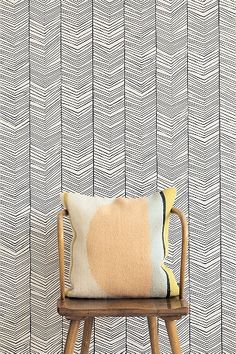 The wallpaper Herringbone Wallpaper - 167 from Ferm Living is wallpaper with the dimensions m x m. The wallpaper Herringbone Wallpaper - 167 belongs t Graphic Wallpaper, Modern Wallpaper, Home Wallpaper, Designer Wallpaper, Wallpaper Online, Bathroom Wallpaper, Geometric Wallpaper, Black Wallpaper, Herringbone Wallpaper