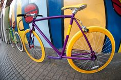 PurpleYellow & Single Bicycle, Vehicles, Bicycle Kick, Bike, Bicycling, Cars, Bmx, Vehicle, Cruiser Bicycle