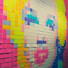 Post-it Marilyn #pixel