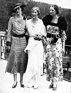 Crown Princess Märtha of Norway with her sisters Princess Margaretha of Denmark and Queen Astrid of Belgium