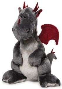 Dragon en peluche NICI, assis, 20 cm