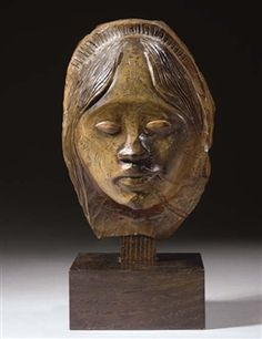 View Tête de femme tahitienne (Circa By Paul Gauguin; Access more artwork lots and estimated & realized auction prices on MutualArt. Marc Riboud, Paul Gauguin, Beatles, Gauguin Tahiti, Serge Gainsbourg, Art History, Lion Sculpture, Auction, Museum