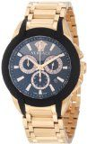 Versace Men's M8C80D008 S080 Character Rose Gold Ion-Plated Stainless Steel Chronograph Date Watch.