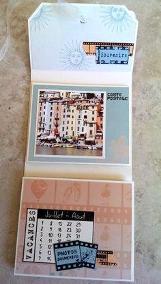 IMAG3346 Album Photo Scrapbooking, Mini Albums Scrapbook, Stamping Up, Crochet, Frame, Inspiration, Day Planners, How To Make Scrapbook, Baby Mini Album