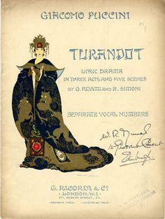 Turandot, s.d. (ill.: Umberto Brunelleschi); ref. 7290