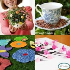 A lovely set of crafts to get you in the Spring mood - let's celebrate the 1st Day of Spring!