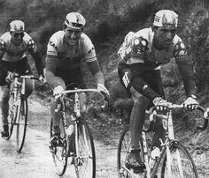 Vuelta a España 1986, Chozas, Kelly, Aja, en plena ascension al puerto de Alisas.