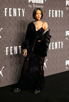 Rihanna answers questions about her first full fashion collection.