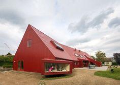 Red Youth Center in Roskilde, Denmark / Cornelius + Vöge