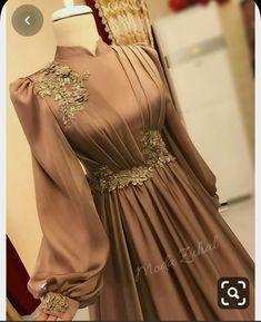 Prom Dresses With Sleeves, Modest Dresses, Stylish Dresses, Pretty Dresses, Hijab Dress Party, Hijab Evening Dress, Evening Dresses, Modest Fashion Hijab, Muslim Fashion