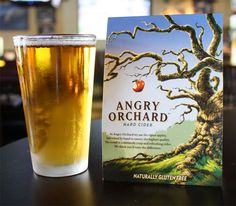 Angry Orchard Hard Cider - This from the tap is literally the best drink ever.