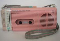 1980s radio, my best friend had this exact radio.