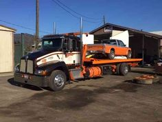 Tow Trucks : Deals & Offers : Kenworth :: Page: 2 Flatbed Towing, Flatbed Trailer, Kenworth Trucks, Trailers, Tow Truck, Rigs, Hooks, Deck