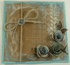 Die Cuts and embossing folders: http://inkpaintbeads.blogspot.co.uk/2012/08/who-inspires-you.html