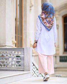 Ideas Fashion Hijab Remaja Kulot For 2019 Islamic Fashion, Muslim Fashion, Modest Fashion, Hijab Fashion, Fashion Outfits, Work Fashion, Trendy Fashion, Fashion Trends, Muslim Wedding Dresses
