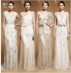 caliente de las ventas de primavera verano mix orden jenny packham elegante casual gasa vestidos de tP103al por mayor , $126.72 on Es.dhgate.com | DHgate