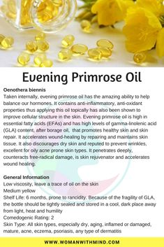 Evening Primrose Oil General Information and Beauty DIY - Holistic Health Sport Nutrition, Health And Nutrition, Health Fitness, Fitness Gear, Nutrition Guide, Nutrition Education, Fitness Diet, Natural Health Remedies, Herbal Remedies
