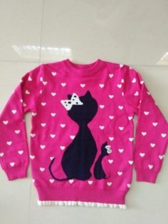 ABG len hình mèo đeo nơ trung quốc xuất màu hồng size 1 đến 5 ri 5